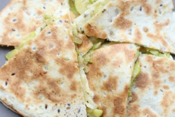 Quesadilla met courgette