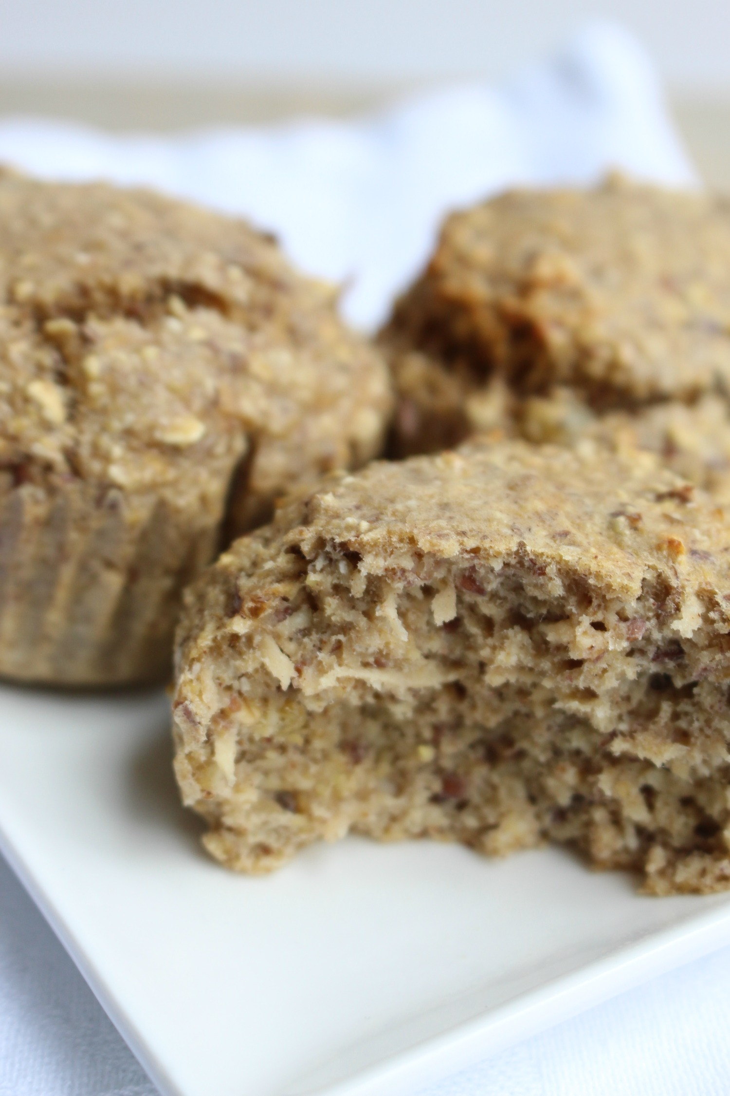 havermout appel muffin