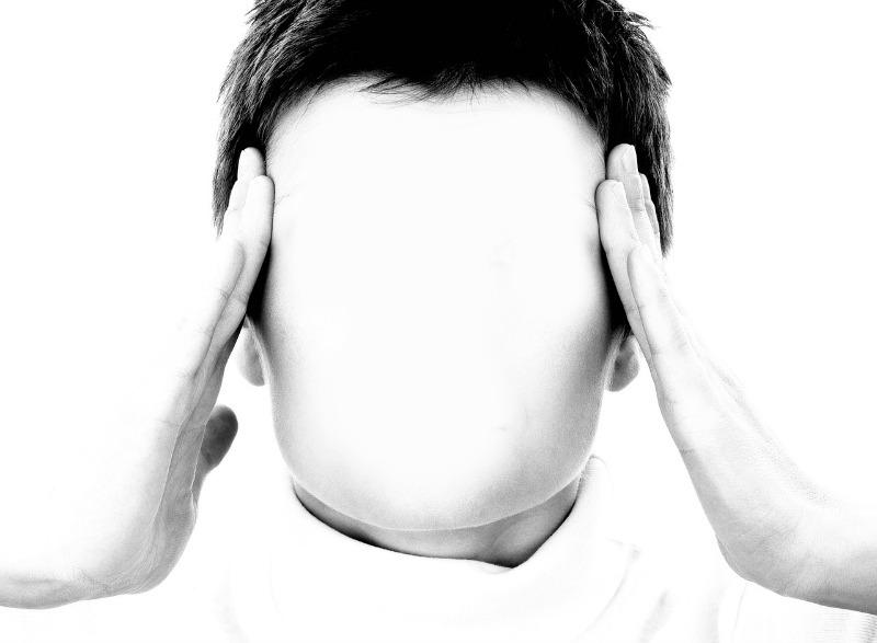 Afbeelding persoon met hoofdpijn