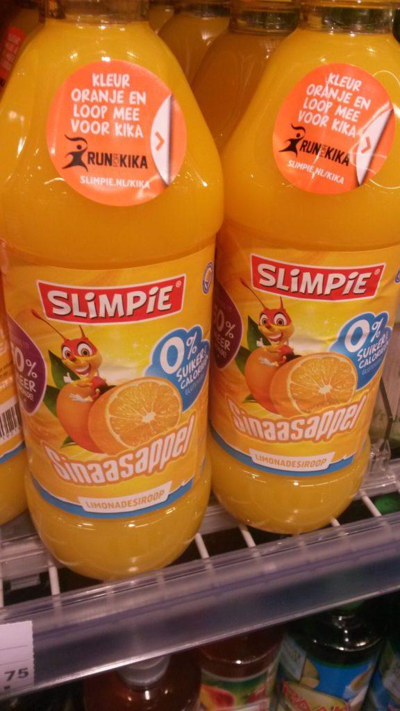 slimpie in de supermarkt