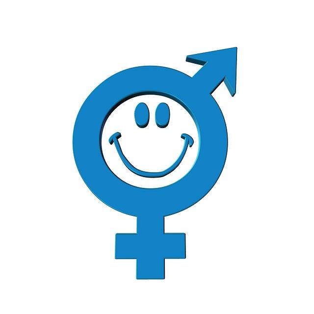 plaatje van mannen en vrouwen symbool