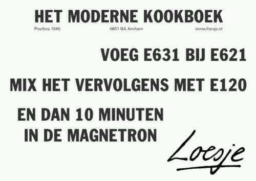 Loesje quote over e nummers