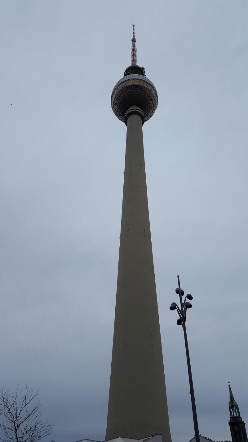 de hoogste toren in Berlijn
