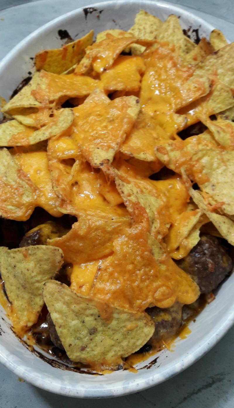 Mexicaans met nacho uit de oven