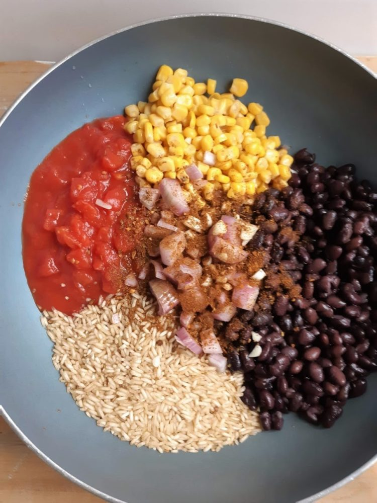 mexicaanse in een pan