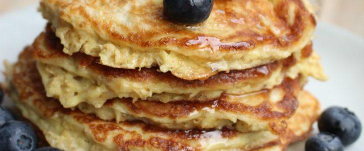 Gezond ontbijt – Havermoutpannenkoeken