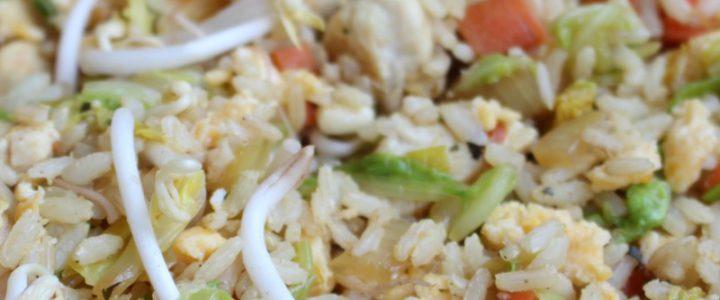 Nasi goreng met kip – zelfgemaakt