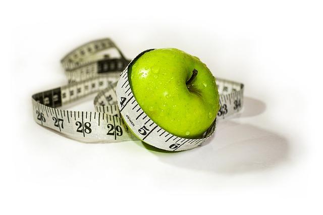 appel met meetlint eromheen