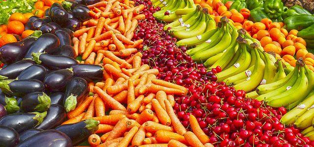 Wat zegt de kleur van het fruit en groenten?