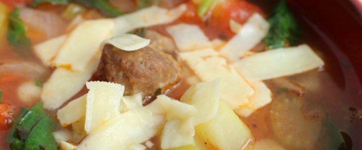 Minestrone soep – lekker als maaltijdsoep