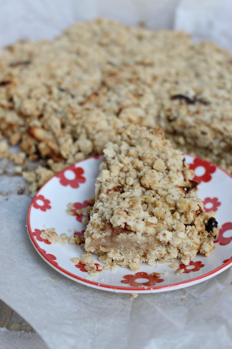 Appel plaatkoek zonder suiker