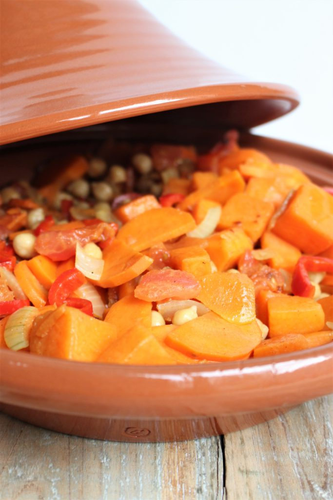 Pompoenstoof in tajine
