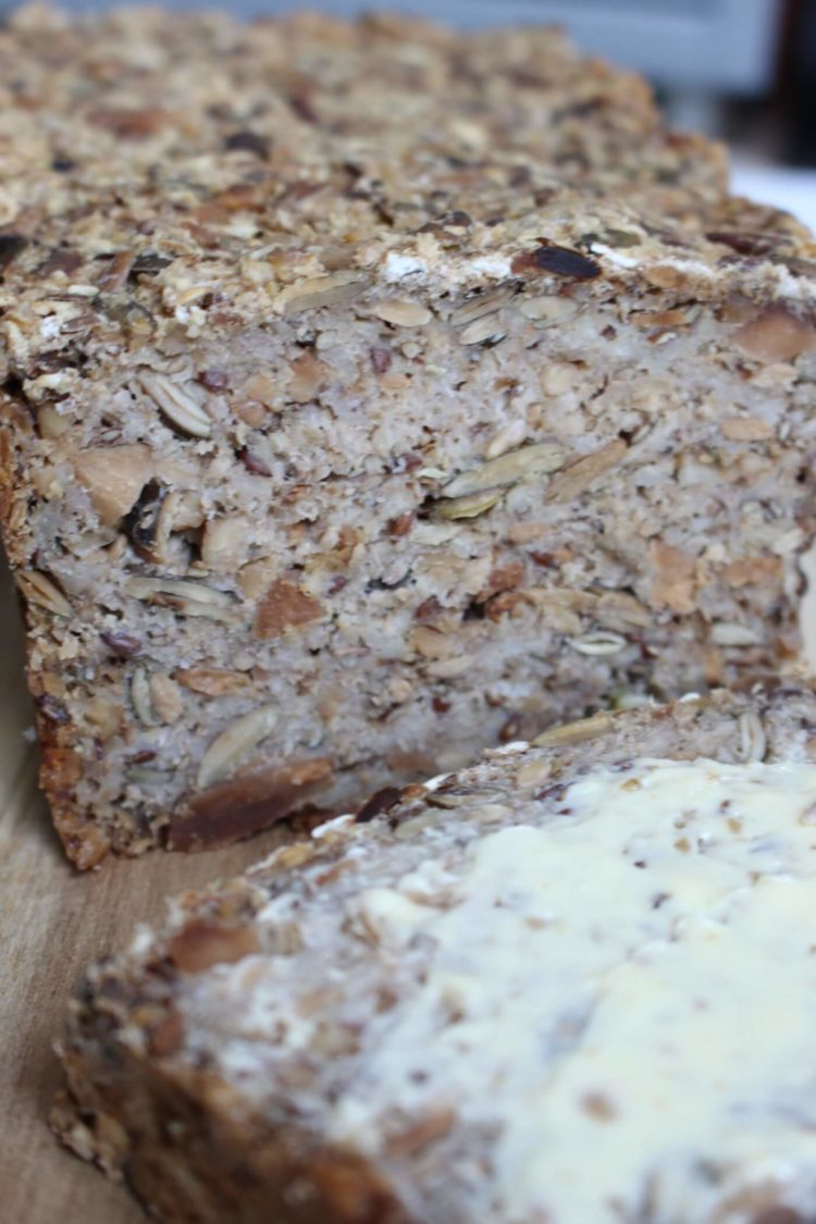 Eenbrood zonder bloem of meel, genaamd een adventure bread