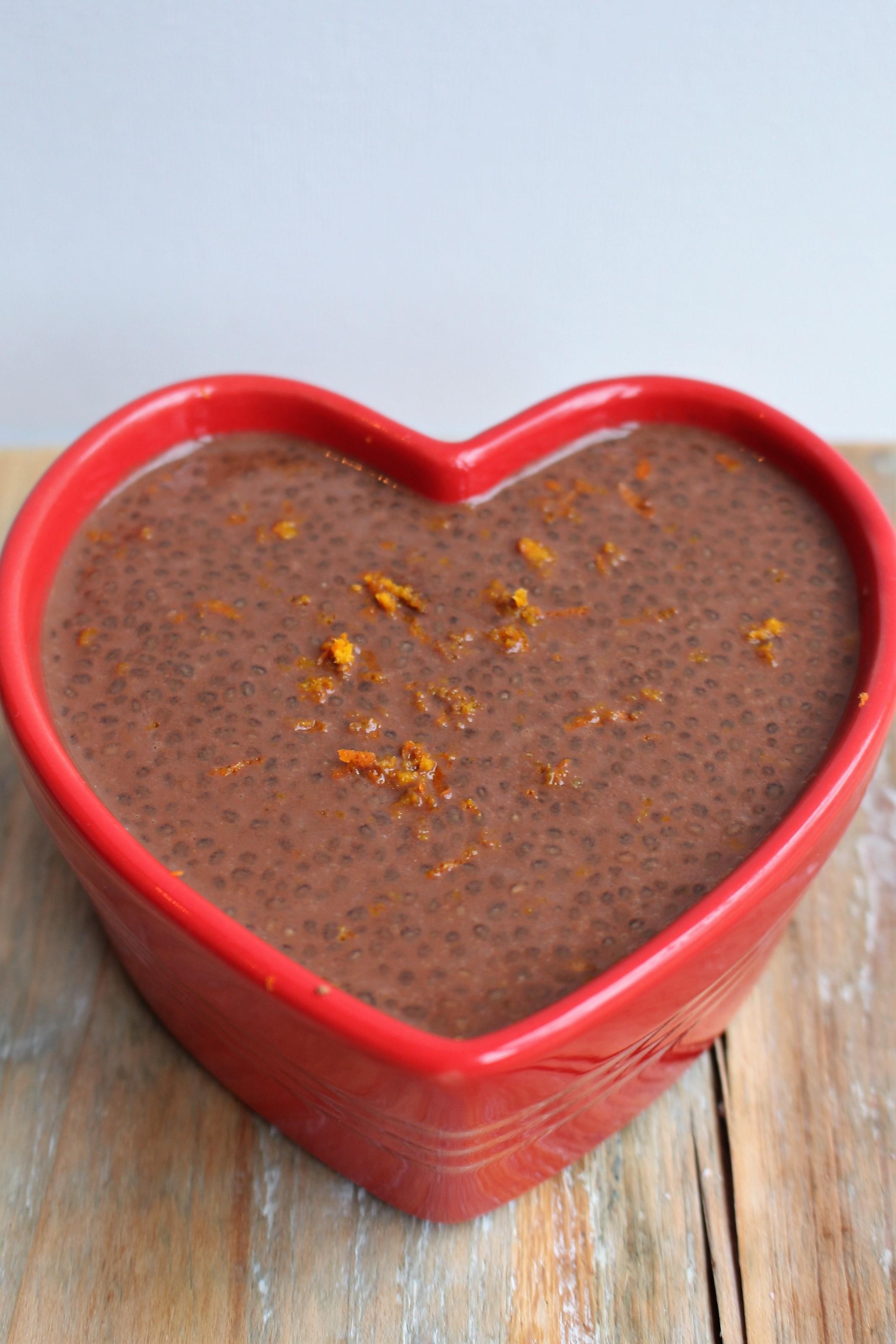 Chocolade chiapudding