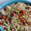 quinoa salade met tonijn en kikkererwten