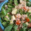 recept voor quinoa salade met zalm en groenten