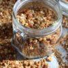 recept voor granola met appel uit de oven