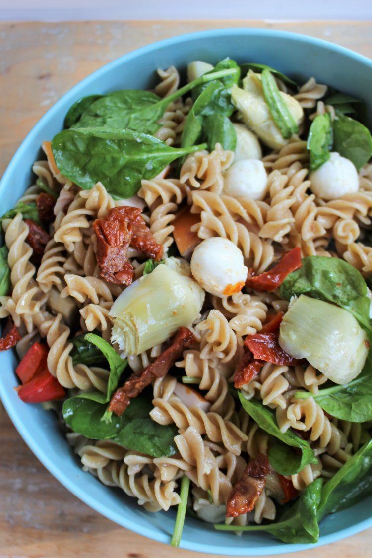 pastasalade snel klaar