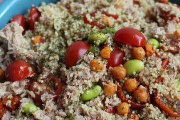 quinoa salade met tonijn