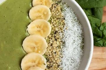 recept voor Groene smoothiebowl