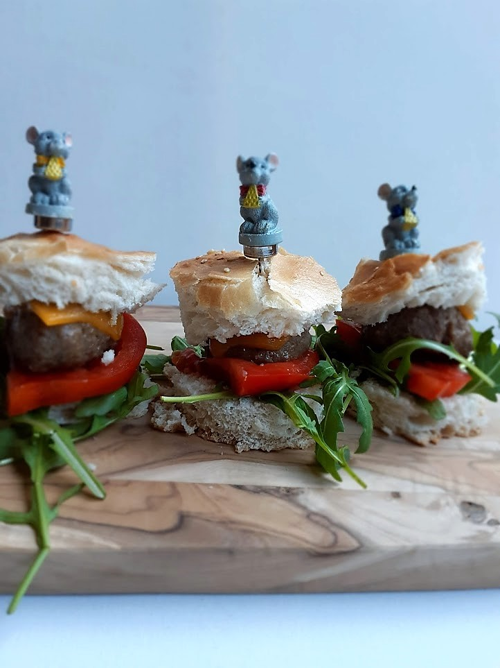 Recept voor mini hamburgers