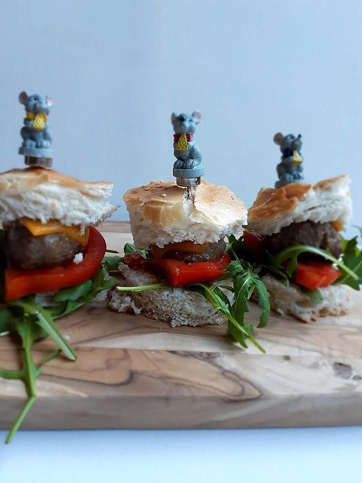 Mini hamburgers – feestelijk hapje