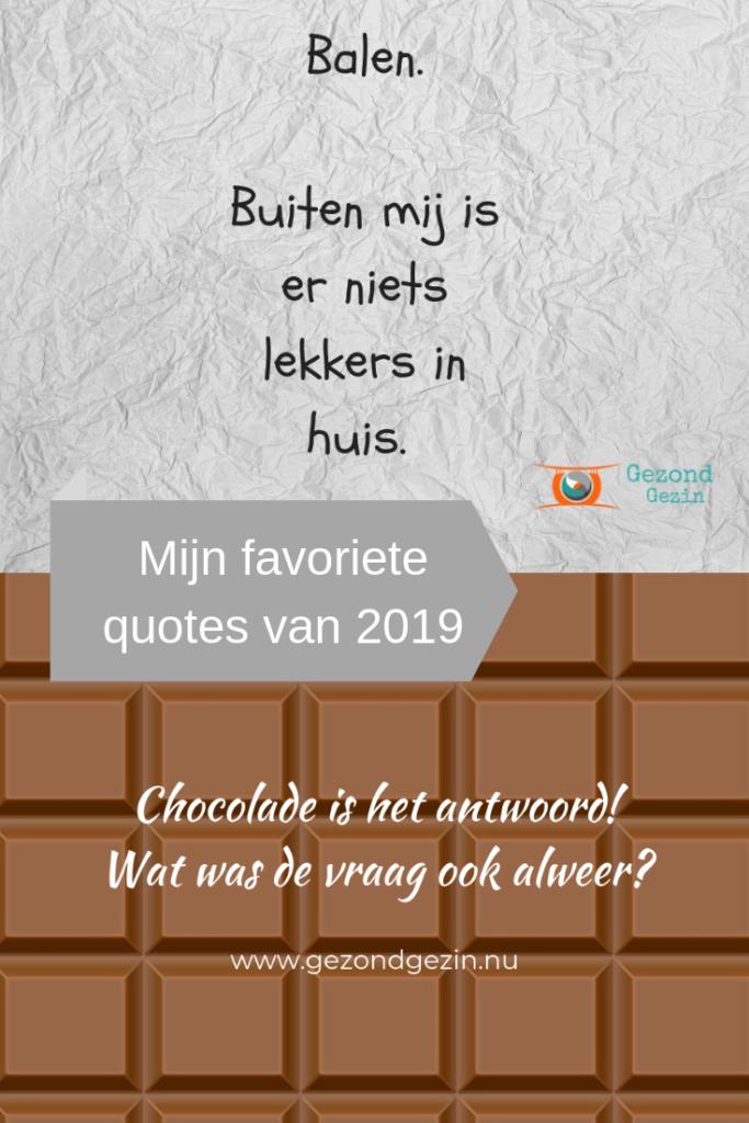 Favoriete quotes van 2019