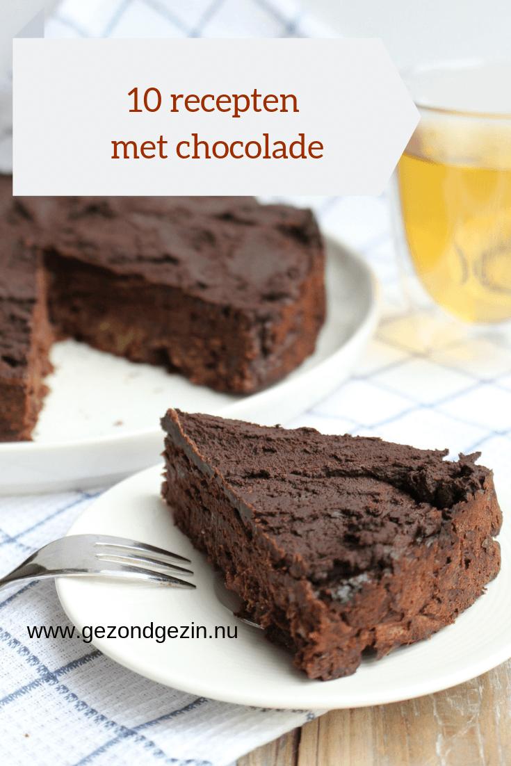 10 recepten met chocolade