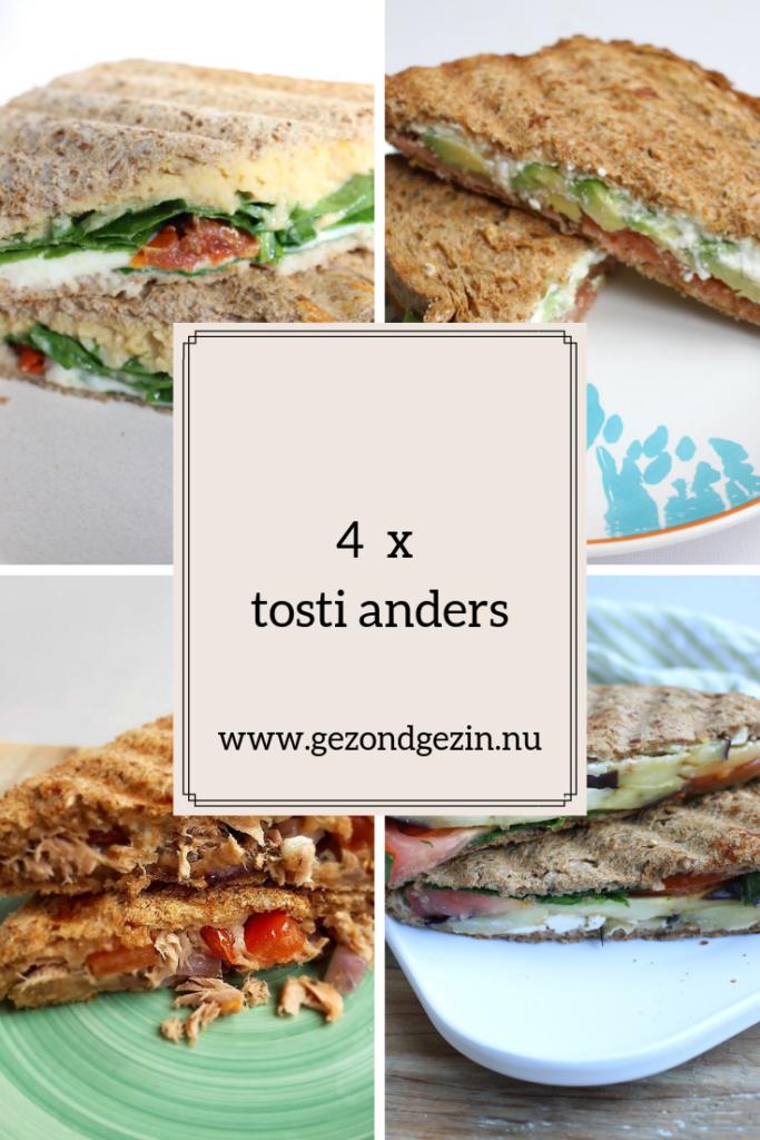 Klik op afbeelding om naar een verzameling van 4 tosti anders recepten te gaan