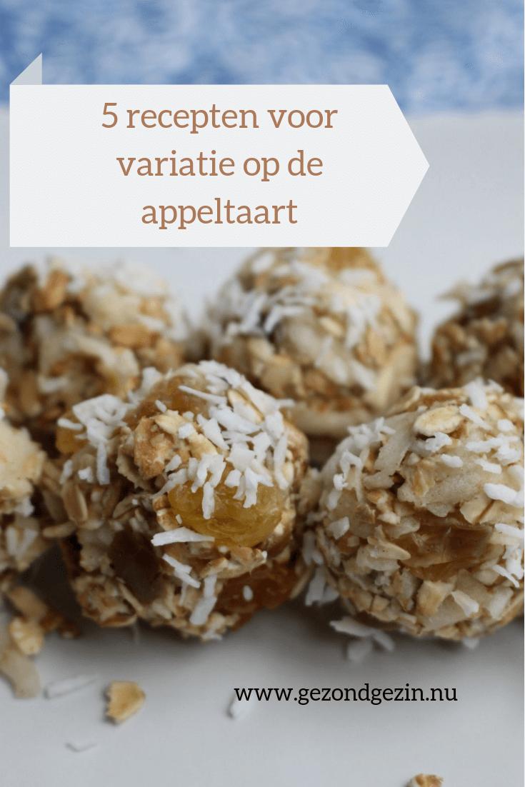 5 recepten voor variatie op de appeltaart
