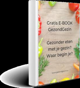 boekvorm van gratis e-book gezonder eten met je gezin