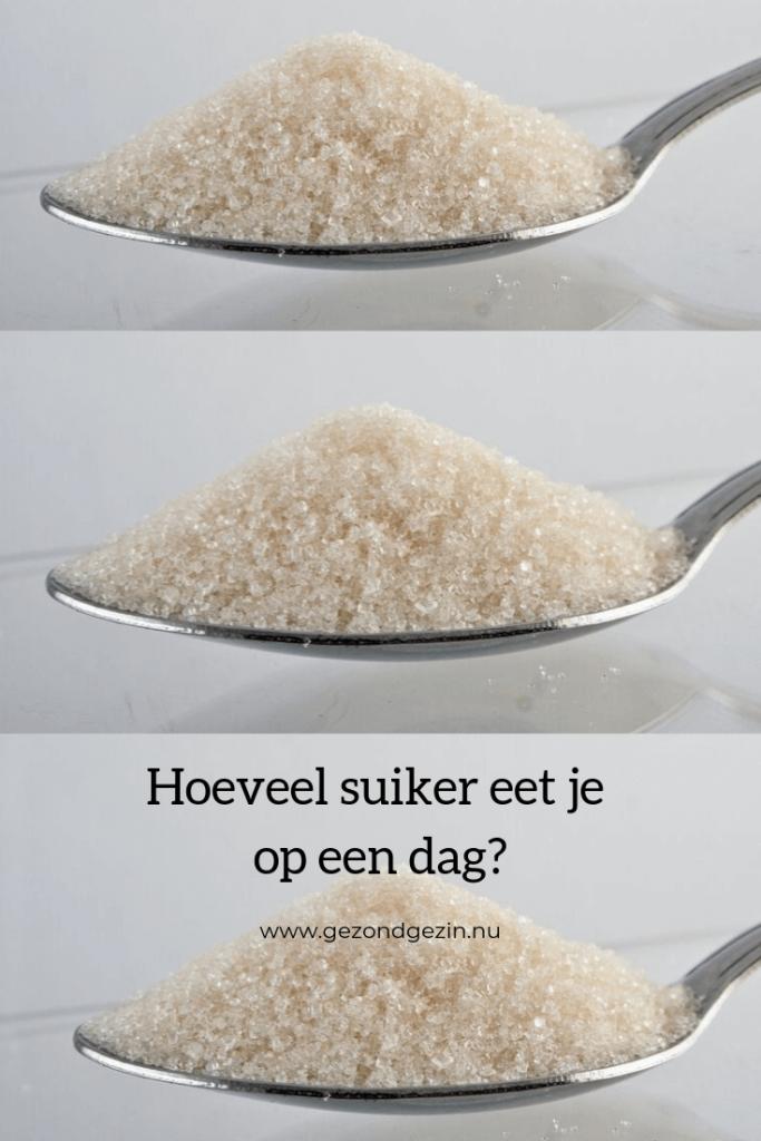 lepel met suiker