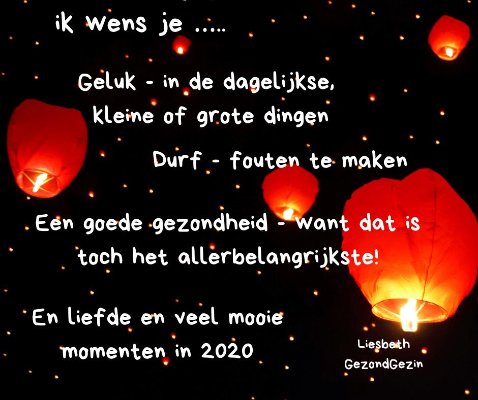 Nieuwsjaarswens voor 2020