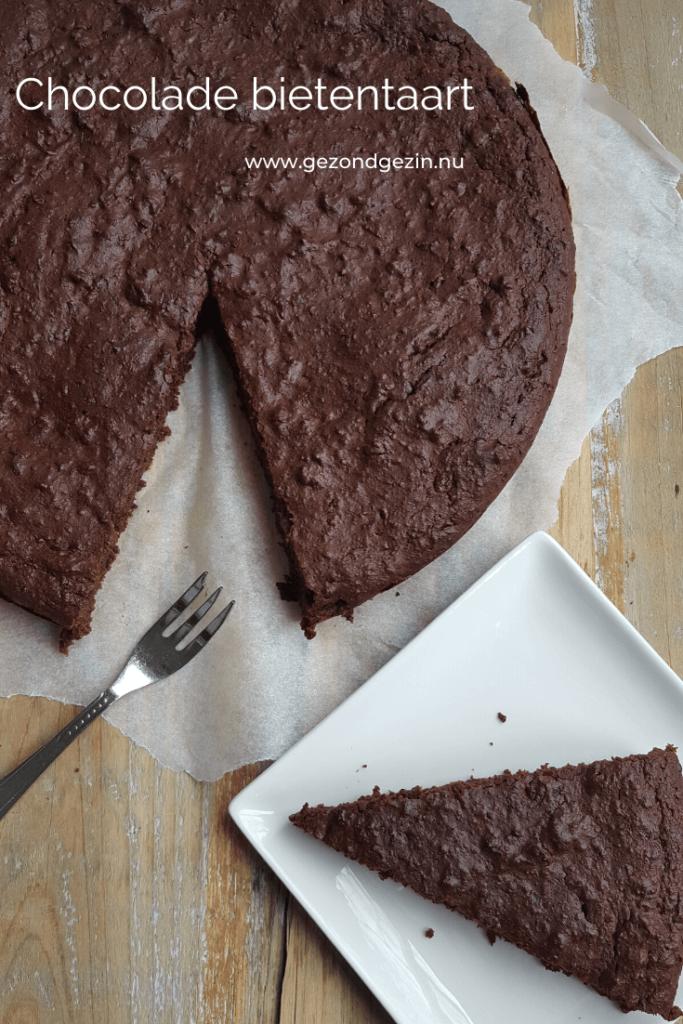 Chocolade bietentaart