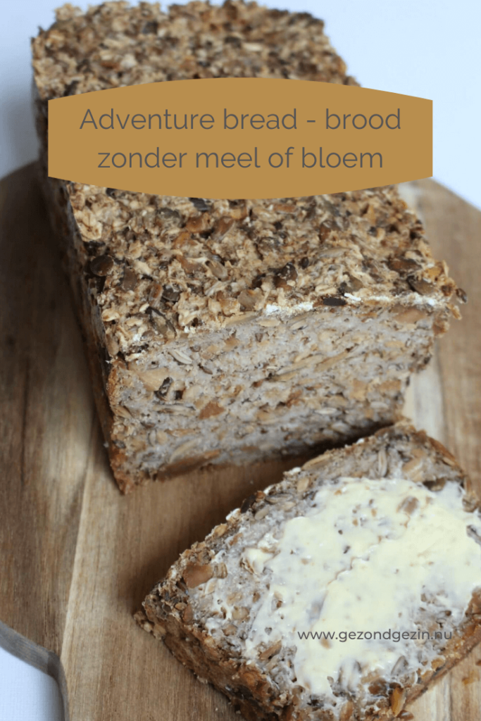Advenure bread - brood zonder meel of bloem