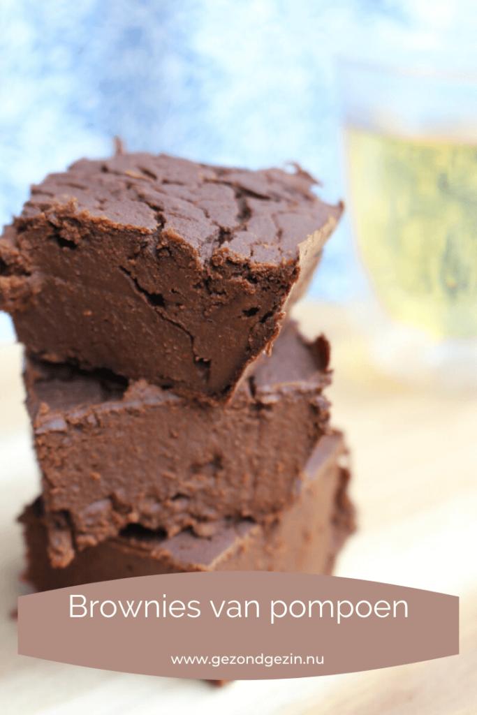 brownies van pompoen