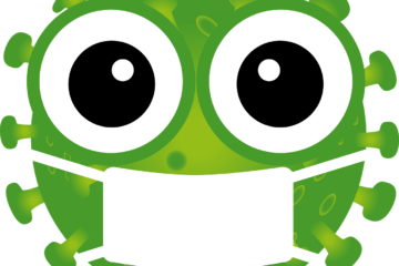 groen virus mannetje