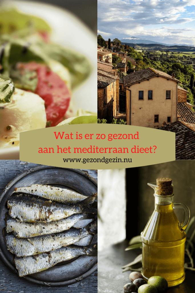 wat is er zo gezond aan het mediterraan dieet?