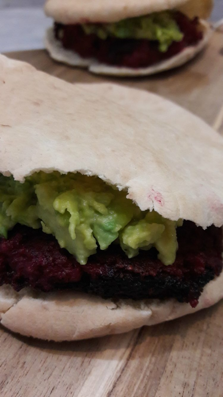 vegetarische bietenburger