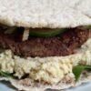 vega burger met kidneybonen en linze