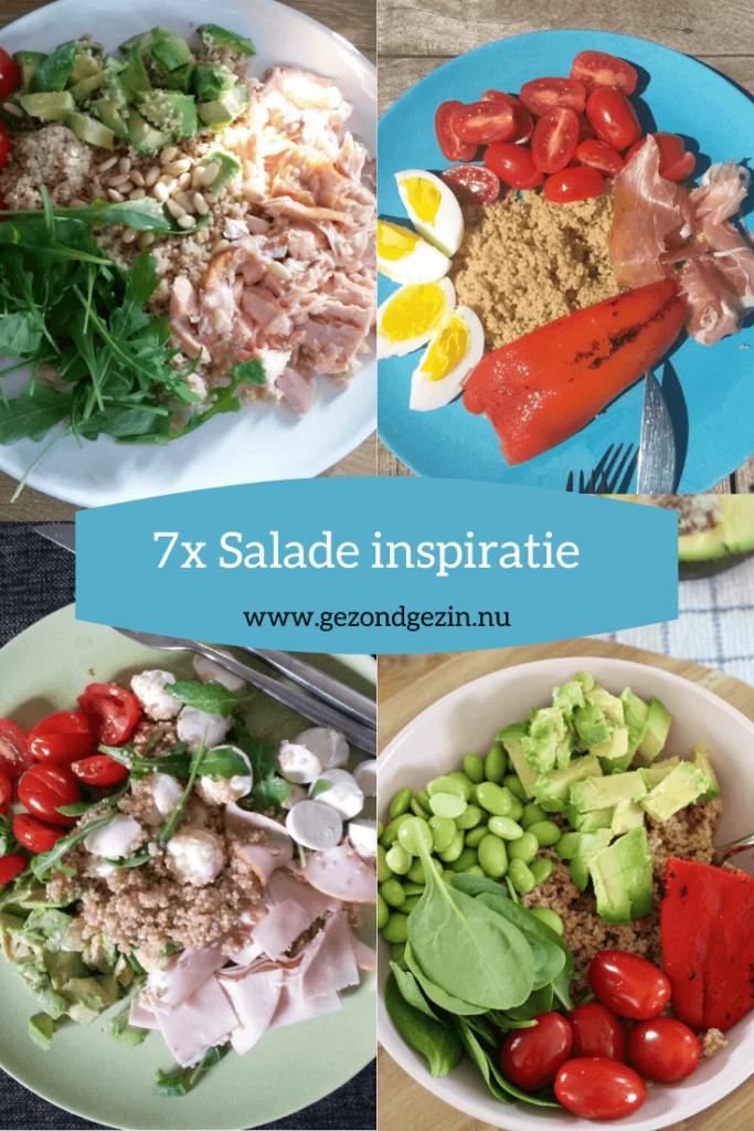 Inspiratie voor 7x een salade