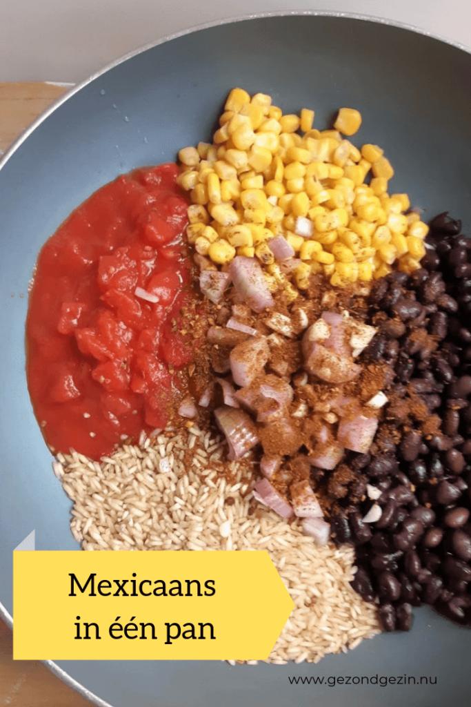 Mexicaans in één pan