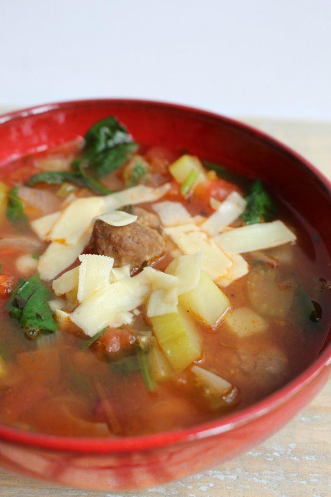 kom minestrone soep