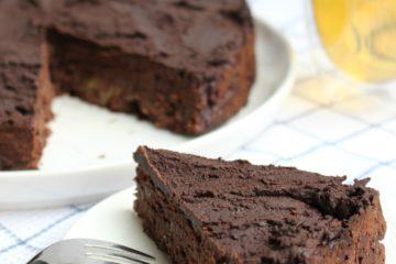 brownietaart met courgette