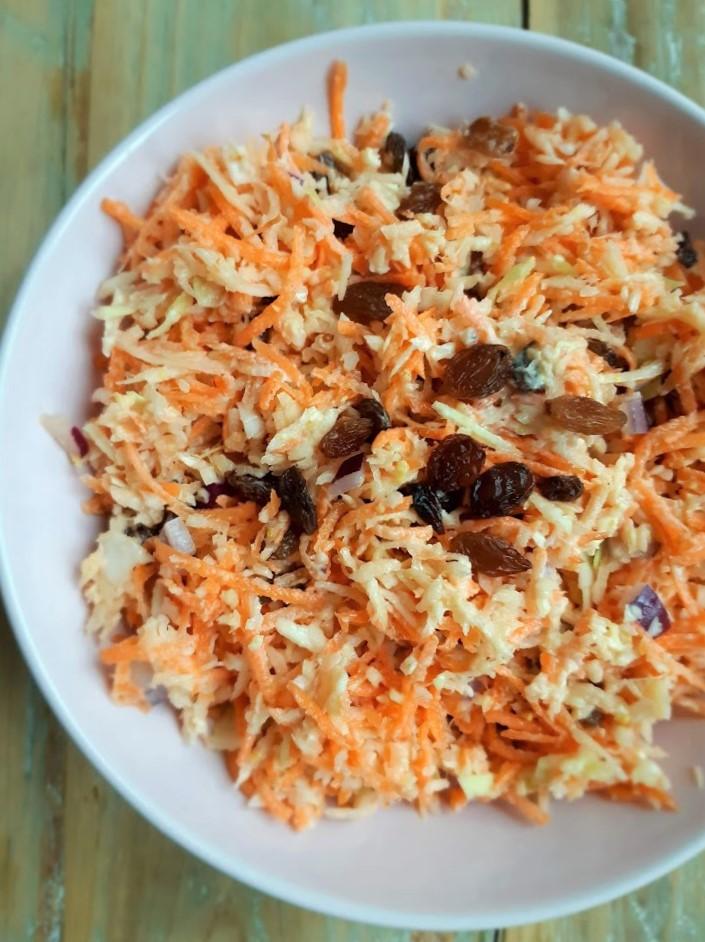 Zelf maken – gezonde coleslaw