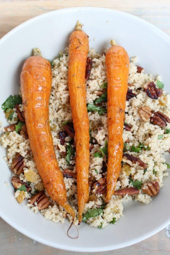 couscous met een marokkaans tintje