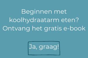 Beginnen met koolhydraatarm eten_ Ontvang het gratis e-book