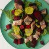 Haringsalade met bieten