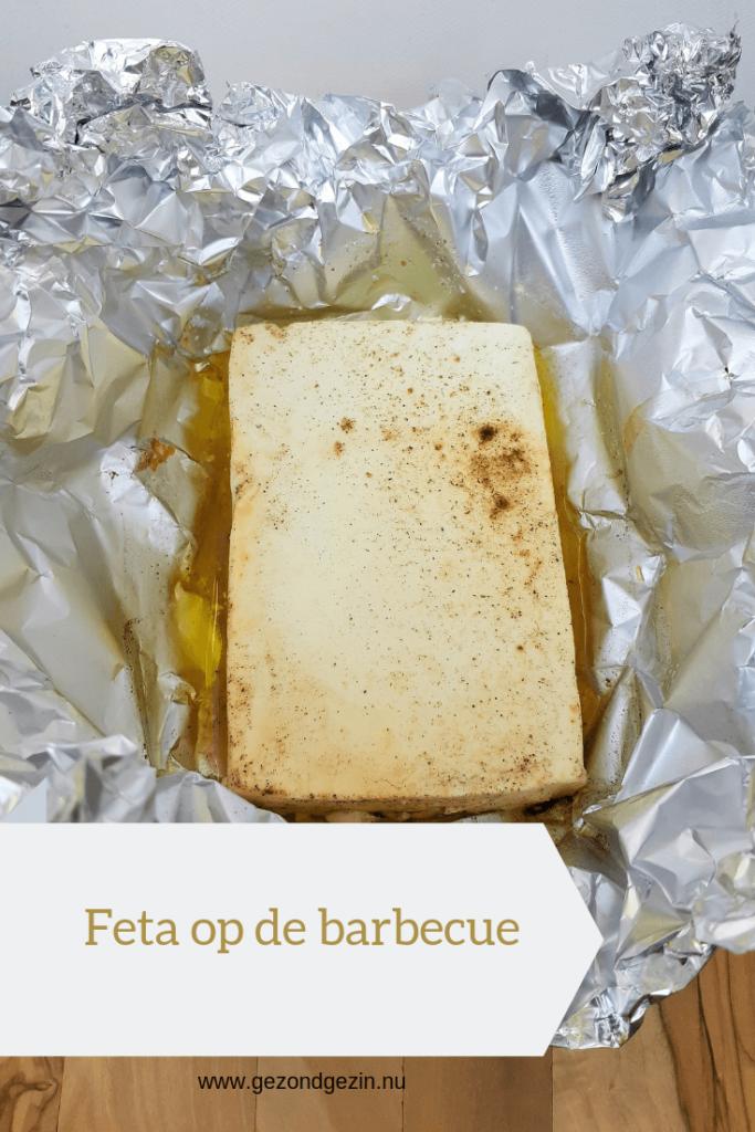 feta op de barbecue