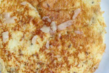 omelet van bloemkoolrijst